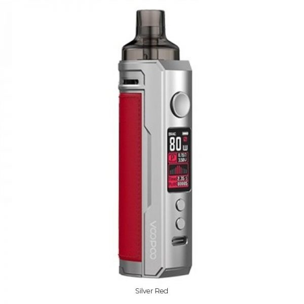 Kit Drag X - Silver Red - Voopoo